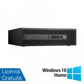 Calculator HP Prodesk 600 G2 SFF, Intel Core i5-6500 3.20GHz, 8GB DDR4, 120GB SSD + Windows 10 Home